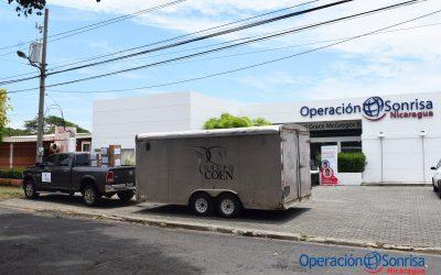 Entrega de donación a Hospital España de Chinandega