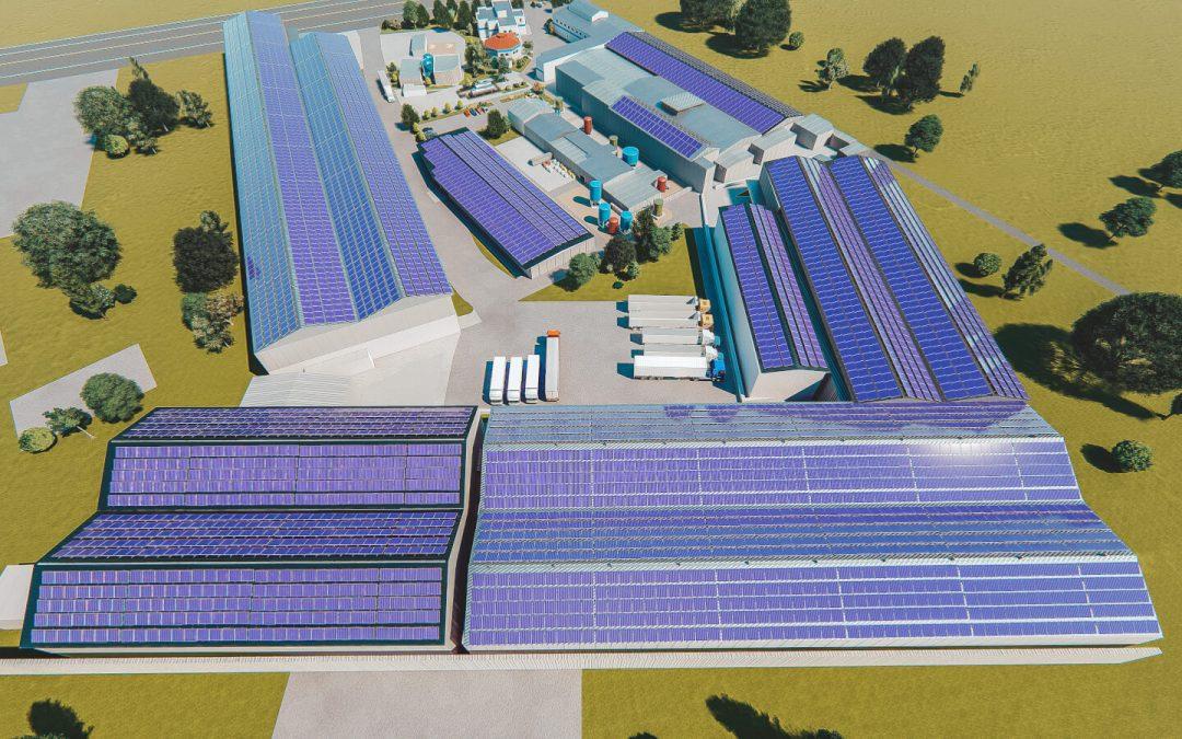 Alas Doradas producirá energía limpia a través de su planta solar